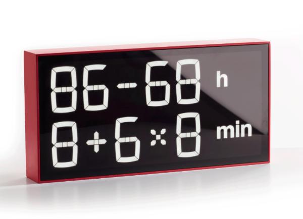 Albert Clock Makes You Do Math