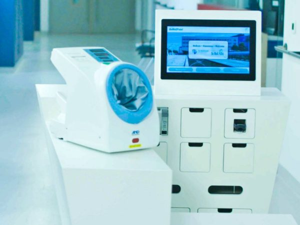 BeWell Wellpoint Triage Nurse Robot