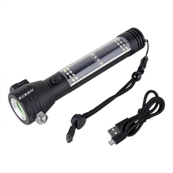 ECEEN Multi-function flashlight tool contents