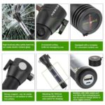 ECEEN Multi-function flashlight tool features