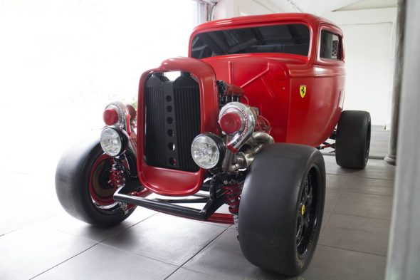 MP Classics 32 Ford with Ferrari Engine 6