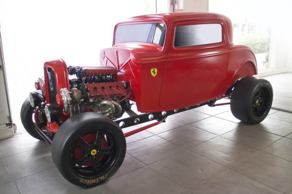 MP Classics 32 Ford with Ferrari Engine 7