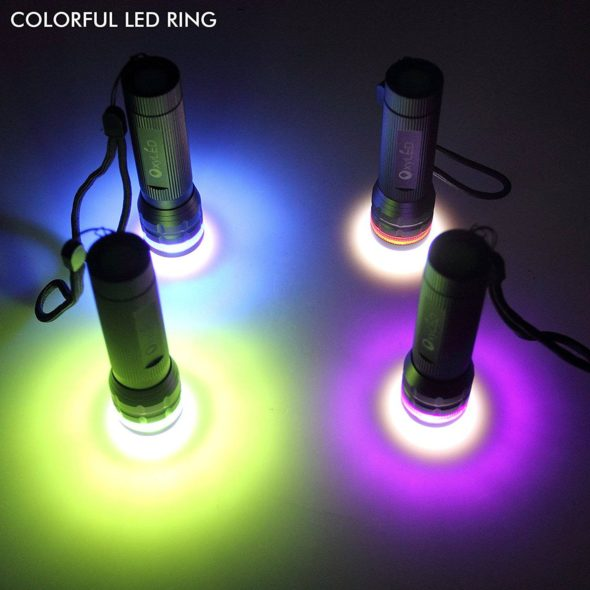 OxyLED OxyWild MD02 Flashlight Color Ring