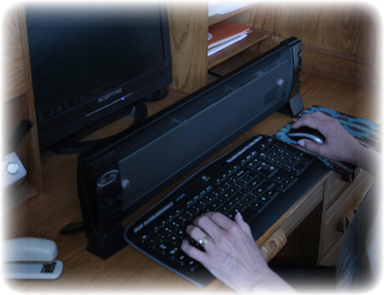 Ra-Key Radiant Keyboard Hand Heater Warmer 2