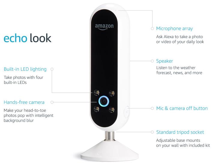 Amazon Echo Look Camera Gadgetking Com