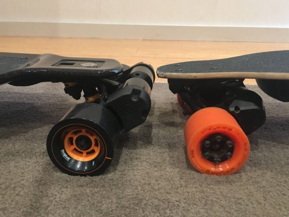 Boosted Dual+ vs Evolve Carbon GT Head to head