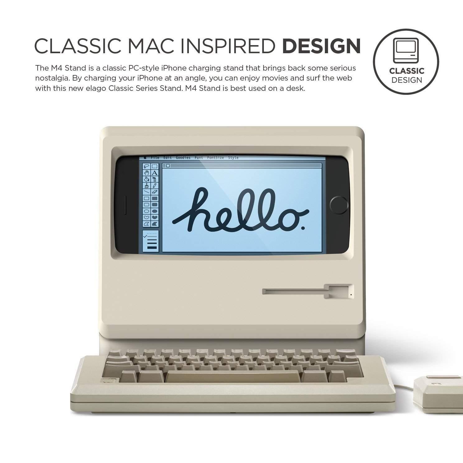 Elago M4 Apple Macintosh iPhone Dock Charging Station 6