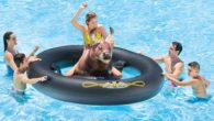 Inflat-A-Bull Bull Riding Pool Float Rodeo