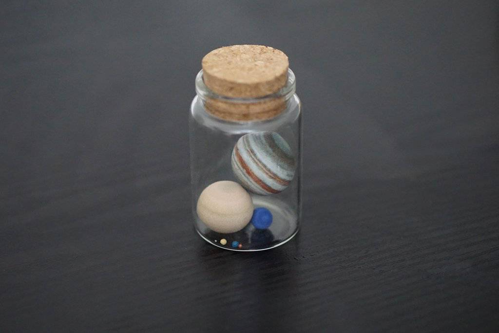 Little Planet Factory Solar System In a Bottle
