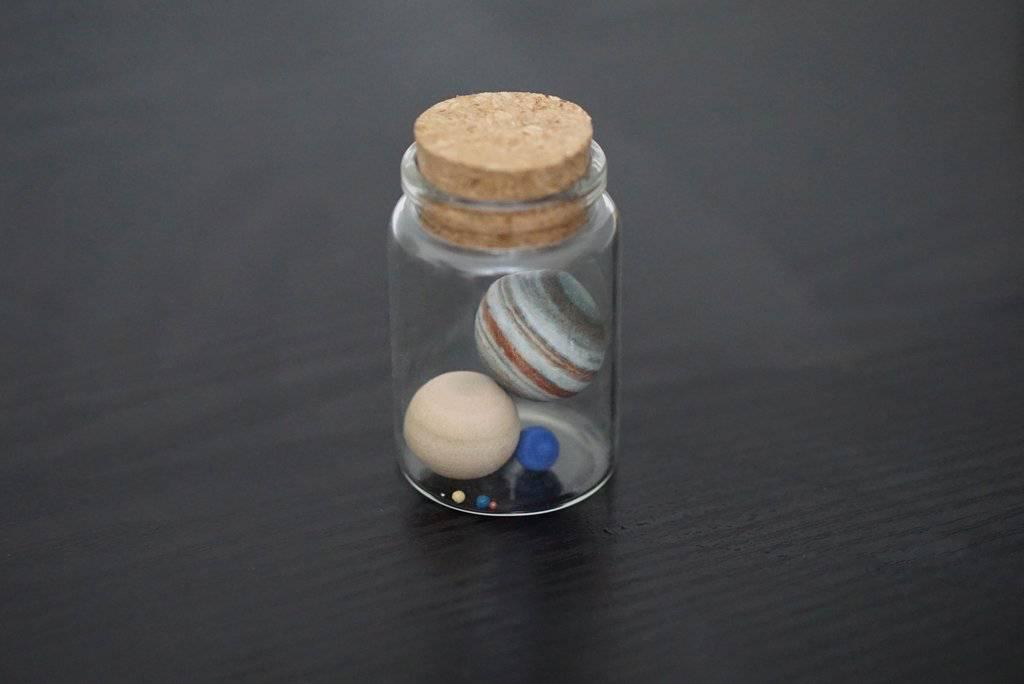 Little Planet Factory Solar System In a Bottle