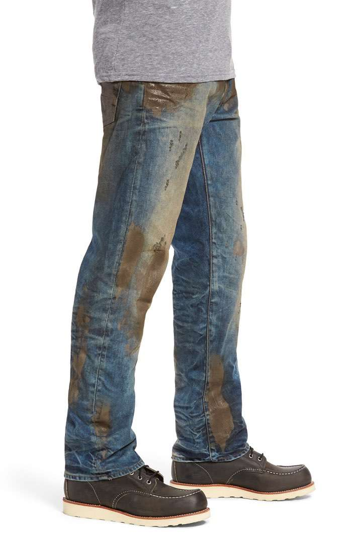 Nordstrom Mud Jeans Barracuda Straight Leg Jeans Side