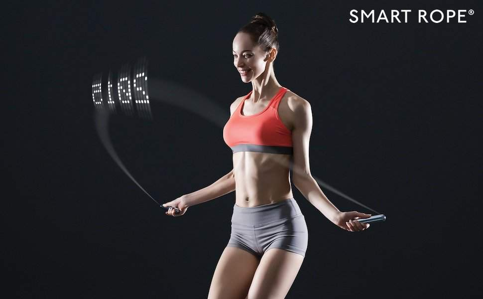 Tangram Factory Smart Jump Rope With Led 2 Gadgetking Com