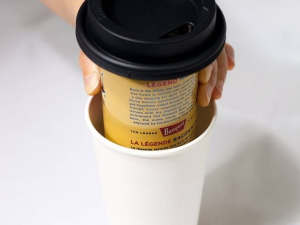 Trinken Lid Coffee Cup Beer Can Hider