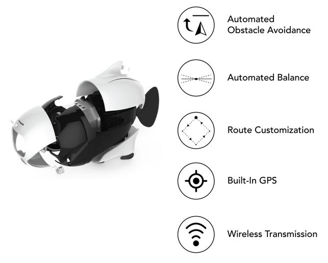 BIKI Bionic Wireless Underwater Fish Drone 1