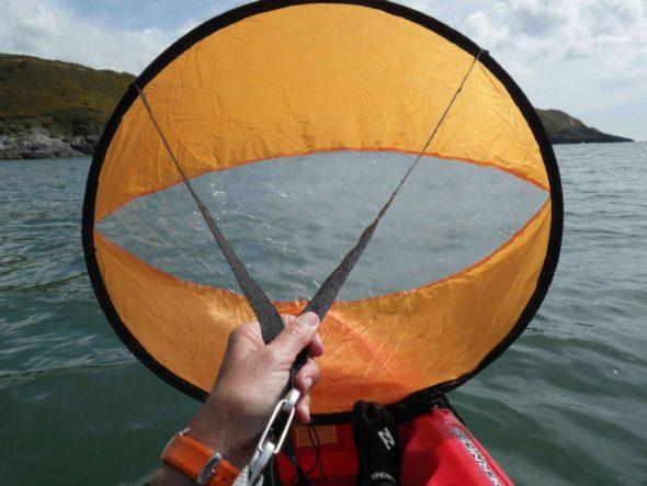Downwind Paddle Kayak Wind Sail Kit 1
