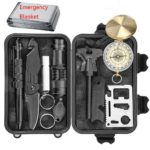 Emergency Survival Kit Waterproof Case
