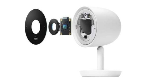 Nest Cam IQ Exploded View