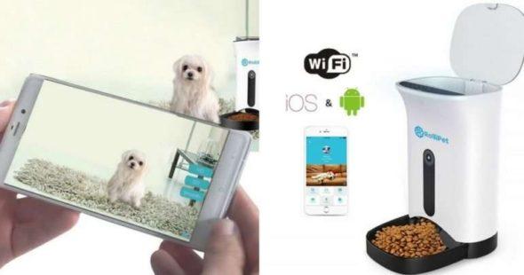 RolliPet Smart Pet Feeder Camera