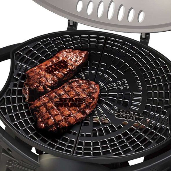 Star Wars TIE Fighter Gas Grill Searing Logo