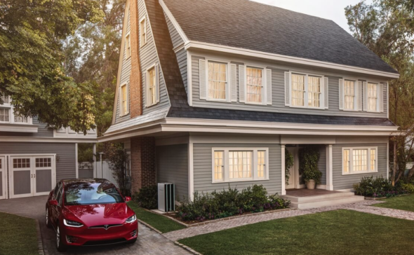 Tesla Solar Roof Panels