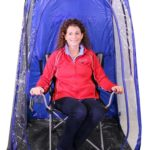 Under The Weather Sports Pod Clear Tent Blue