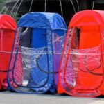 Under The Weather Sports Pod Clear Tent Colors