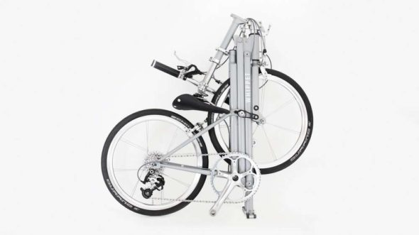 Whippet Folding Bike Folded
