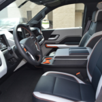 Workhorse W-15 Electric Pickup Truck Interior
