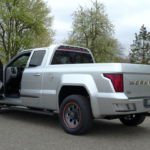 Workhorse W-15 Electric Pickup Truck Rear