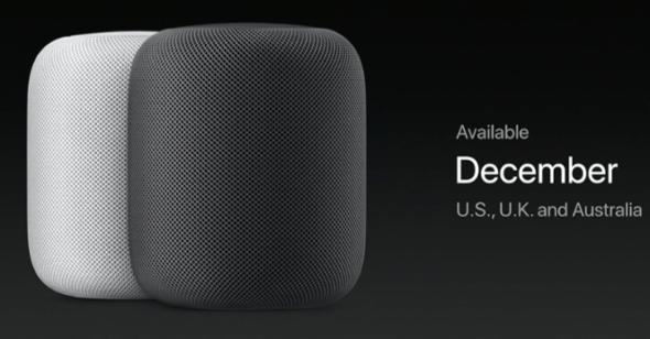 Apple HomePod Smart Speaker December