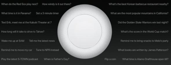 Apple HomePod Smart Speaker with Siri