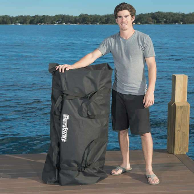 Bestway Hydro Force Huge 17' Stand Up Paddle Board Backpack