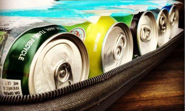 BevPod Slim Cooler Loaded Cans