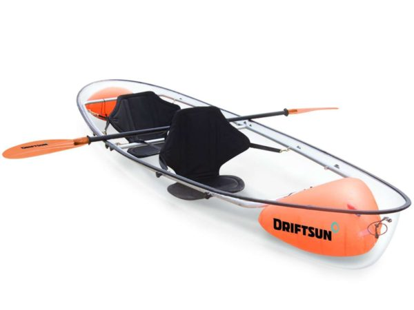 Driftsun Transparent Clear Kayak 6