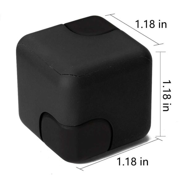 Fidget Cube Spinner Dimensions