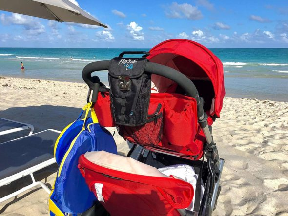 FlexSafe Outdoor Safe Lockbox Stroller