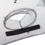 Folding Portable Fishing Net Trap Holes