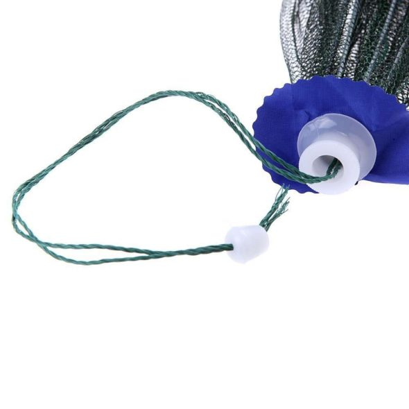 Folding Portable Fishing Net Trap Pull Rope
