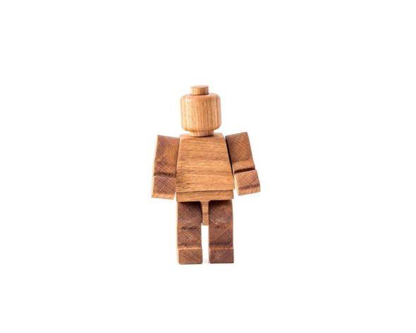 Handmade Wooden Lego Man 2