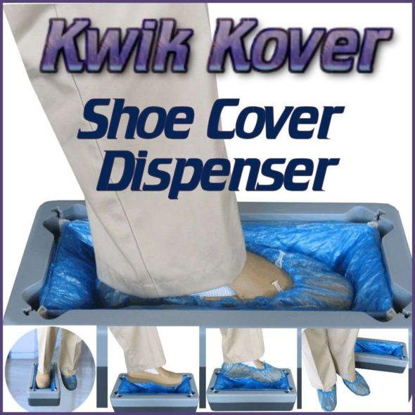 Kwik Kover Shoe Cover Dispenser 1