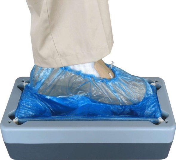 Kwik Kover Disposable Shoe Cover Dispenser Gadgetking Com