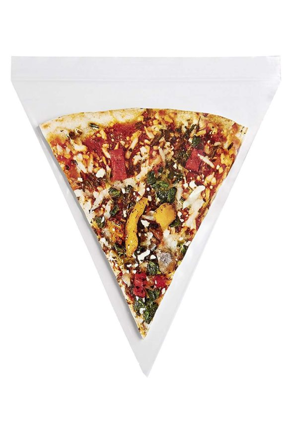 Pizza Slice Ziplock Bag