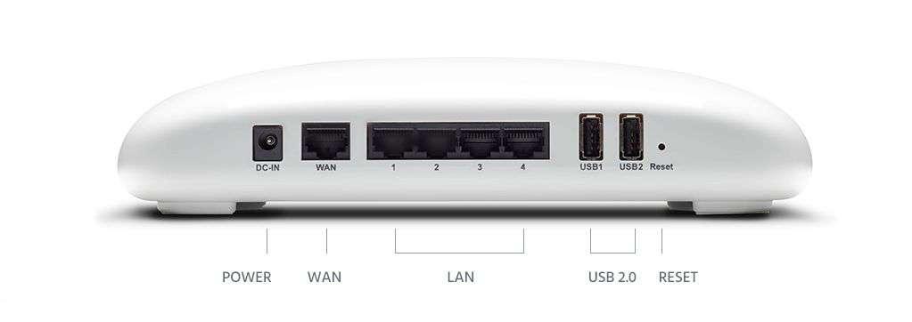 Portal Wifi Router Rear
