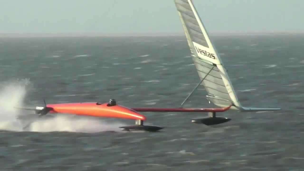 Vestas Sailrocket 2 Fastest Sailboat 2