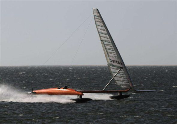 World's Fastest Sail Boat | GadgetKing.com