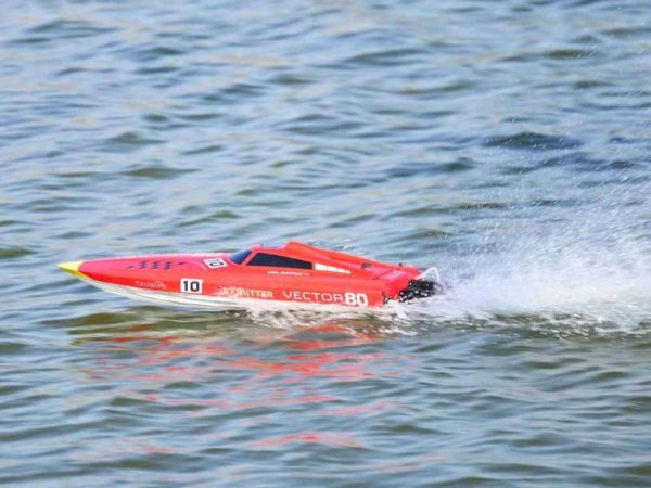 Volantex Vector 80 RC Boat In Water