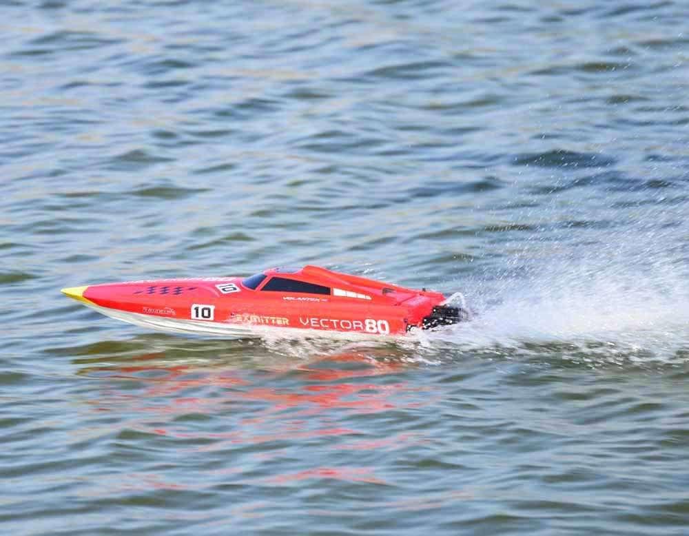 Volantex Vector 80 RC Boat In Water