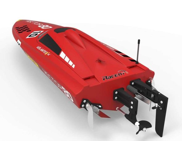 Volantex Vector 80 RC Boat Rear