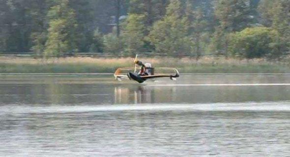 FlyNano Light Water Plane 6
