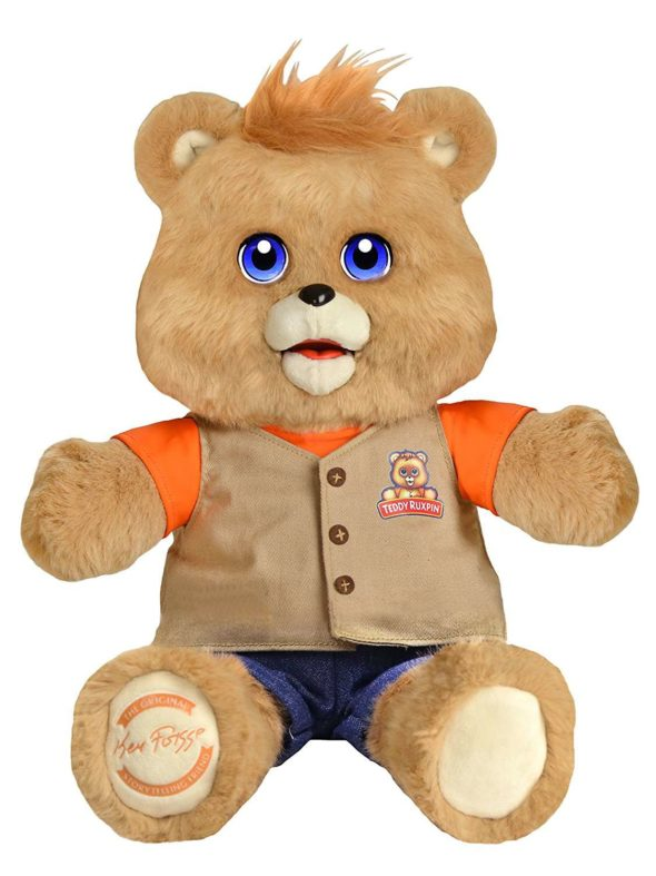 2017 Teddy Ruxpin LCD Eyes